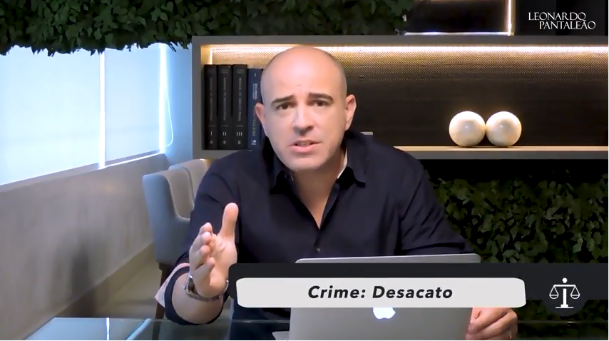 Dica Jurídica – Crime de Desacato